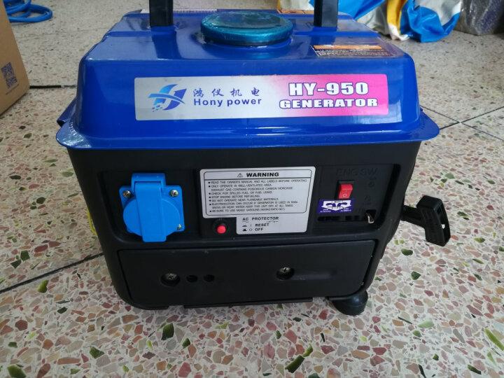小型汽油发电机单相220v交流户外家用便携微型静音发电机 5KW 手电双启动 汽油款 晒单图
