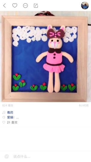 防水围裙中大童儿童画画衣服小学生反穿罩衣无袖男女绘画衣幼儿园 粉色芭蕾兔 110(M码(4-8周岁)) 晒单图