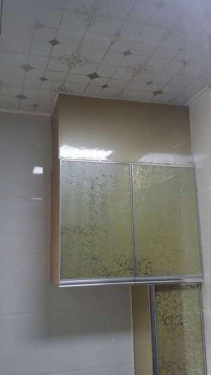 【第三颗钻石】厨房壁橱晶钢门贴膜墙贴橱柜门贴纸光面闪亮碎星装饰浴室贴膜墙纸 太空银60cm*0.5米长 晒单图