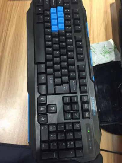 雷蛇(RAZER) 雷蛇 萨诺狼蛛标准版/三色背光专业版有线电竞游戏键盘 LOL/CF吃鸡绝地求生 专业版 晒单图