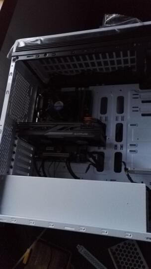 爱国者(aigo)发现 白色 分体式机箱(支持ATX主板/双U3/读卡器/风扇调速器/标配2个蓝色风扇/支持水冷) 晒单图