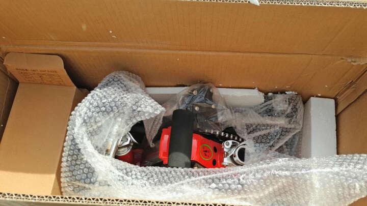 升特电动车  锂电代步代驾电瓶车 12寸可折叠迷你便携城市电动车 350W电机 豪华版 35-45km 红色 晒单图