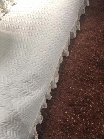 冬季实木沙发垫套装坐垫椅子垫防滑客厅通用全包欧式沙发套罩巾飘窗 碧琴 90*70cm(单条装) 晒单图