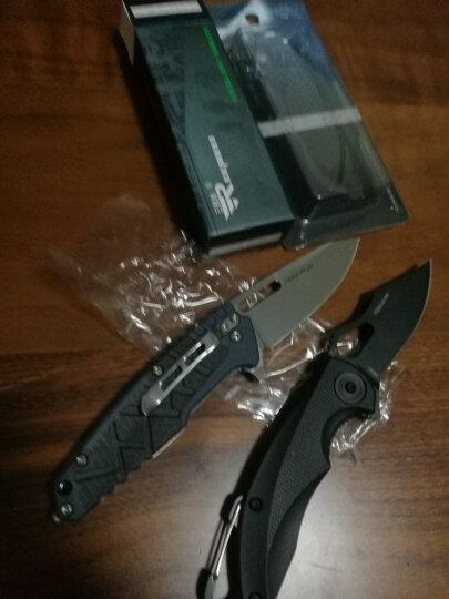 三刃木 工具刀 7033LUI-PH纯黑色 G10柄(户外探险、救生刀、多用途折叠工具刀) 晒单图