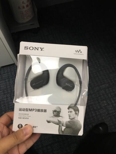 索尼(SONY)NW-WS414防水游泳跑步运动mp3音乐播放器一体耳机 8G(黑色) 晒单图