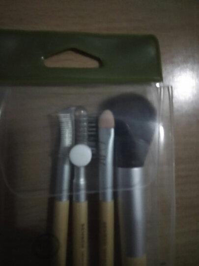 三本(SEMBEM)化妆刷组合 (6件套) 腮红刷 眼影刷 眼影棒 唇刷 眉刷 两用粉扑 晒单图