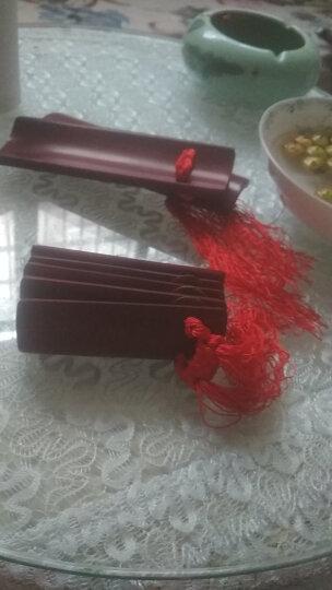 相思鸟(LOVEBIRD) 快板竹板 成人儿童快板 水煮竹子5片响板 袋子 XS6001 中号儿童黑色 晒单图