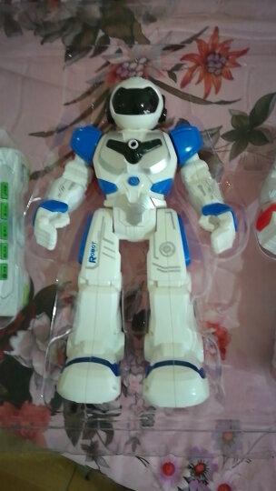 YIER 智能遥控机器人新年礼物儿童男孩女孩玩具充电机械战警可对战唱歌跳舞儿童电动智能 加大版机器人 红色 晒单图