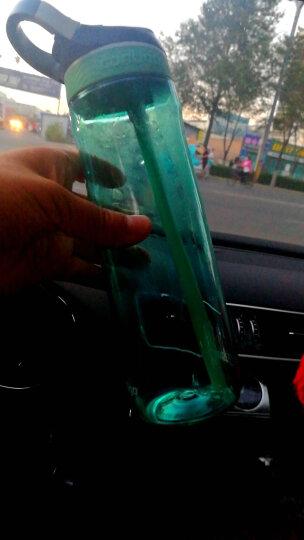 contigo 塑料水杯锁扣夏季运动吸管杯 750ml蒂芙尼蓝HBC-ASH003 晒单图