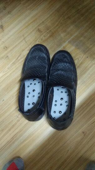 批正品磁疗按摩鞋垫真皮脚底穴位足底62颗磁石保健鞋垫男女款 62颗磁石 新款 皮质面料 40 晒单图