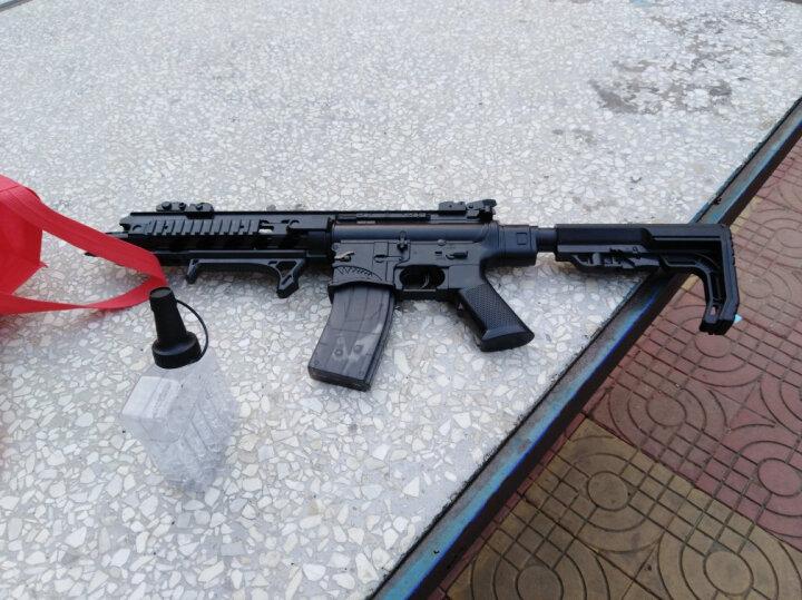 下供弹玩具枪电动连发可发射水晶弹模型m416绝地求生m4a1吃鸡98k儿童玩具枪男孩玩具 M4A1带红外线可伸缩后托另送一万发水弹 晒单图