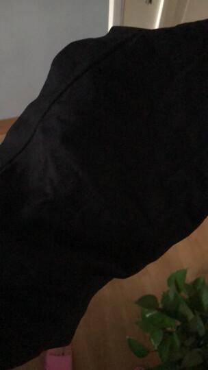 南极人抹胸裹胸2件装背心女打底一片式防走光小清新无肩带文胸 中长款不带垫抹胸白色+黑色 M 晒单图