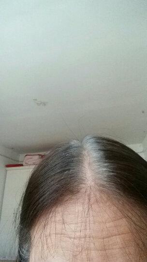 萡素 闷青色染发剂植物天然纯无刺激盖白发不伤发黑色染膏头发颜色染发膏亚麻色闷青膏染头发膏包邮 玫瑰红色 晒单图