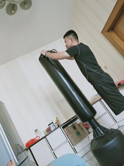飞尔顿(FEIERDUN)拳击沙袋立式吸盘不倒翁沙包成人儿童散打家用武术健身器材送拳击手套 奋斗款红色豪华不倒翁1.85米 晒单图