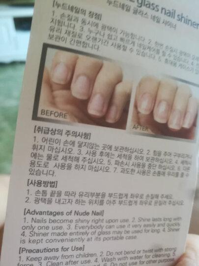 雅甲(YJ) NUDENAIL雅甲纳米玻璃指甲锉 美甲刀 指甲锉 美甲工具小搓条 修甲搓条抛光打磨条 晒单图