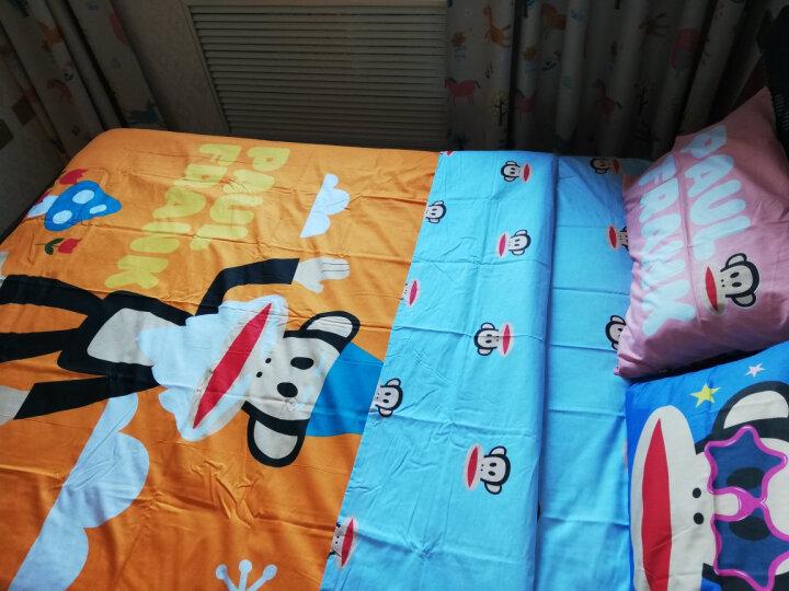 【动漫城】PAUL FRANK/大嘴猴 全棉卡通四件套纯棉床上用品套件 哈喽 适用于1.5米/1.8米床 晒单图