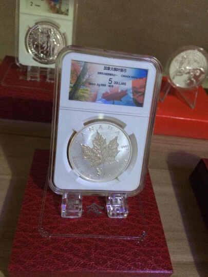 丝绸之路封装币-2016年加拿大枫叶银币 猴年印记 银币 纪念币 晒单图