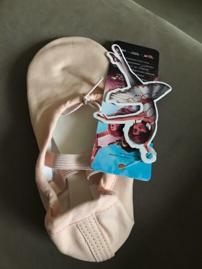 伊熙琳(YIXLW)儿童成人舞蹈鞋猫爪鞋拉丁舞芭蕾舞鞋练功鞋牛皮鞋底28码 了不起的菲丽西系列 晒单图