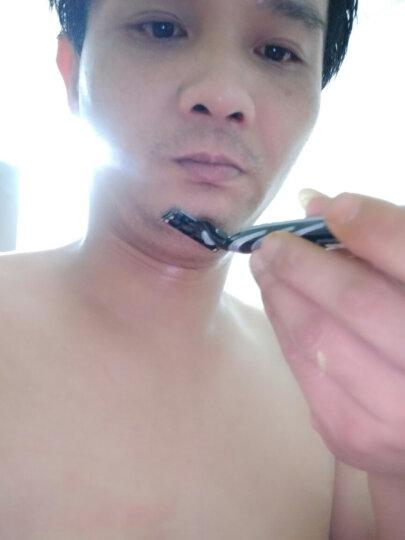 吉列手动剃须刀刮胡刀正义联盟套装锋速3经典(1刀架1刀头+4刀头) 晒单图