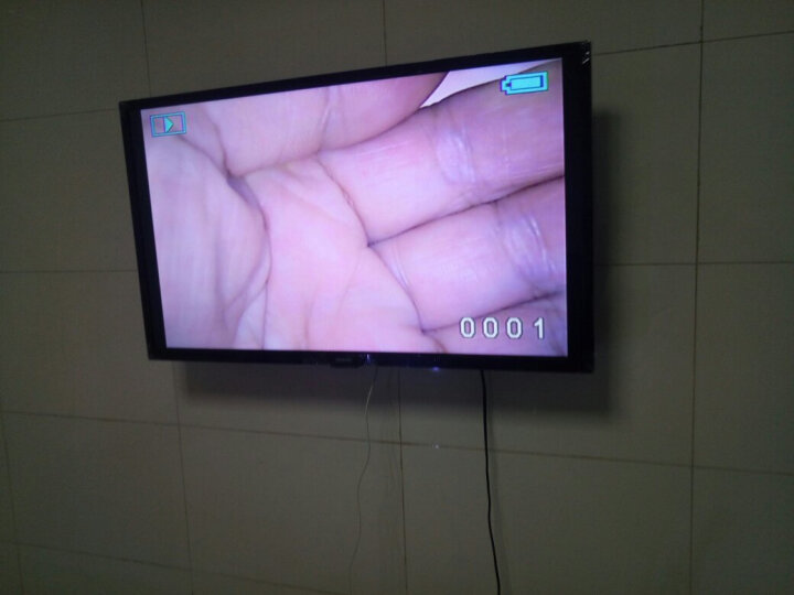 飞利浦 19/22/24/28/32/39/40/43/49/50/55英寸液晶电视 可做显示器 32英寸高清普通款 标配底座 晒单图