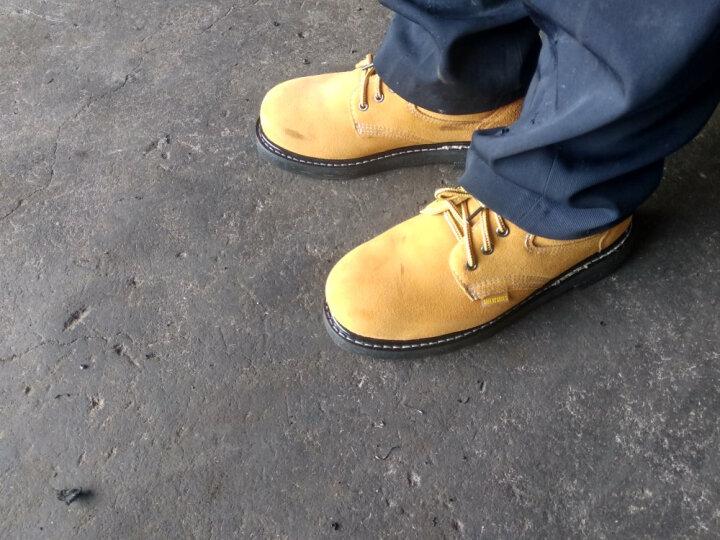 查理斯顿安全鞋防砸防刺穿男女耐磨轮胎底劳保鞋工作鞋 41 晒单图