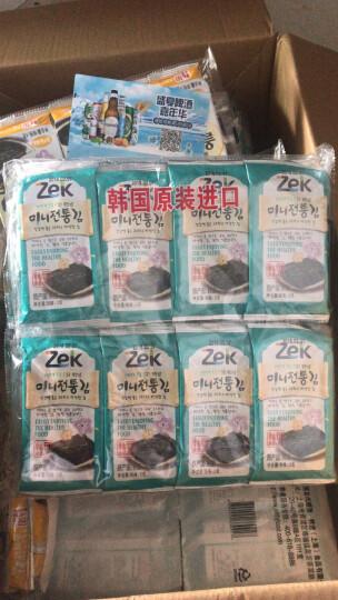 韩国进口 ZEK 海苔紫菜2g*40包 晒单图