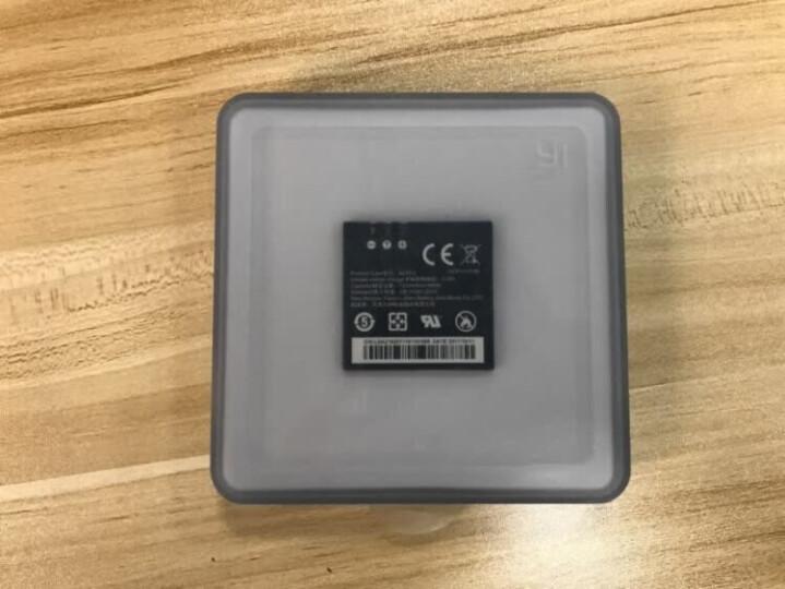 小蚁(YI)4K运动相机原装电池 高密度锂电池 待机长达8小时 拍摄长达2小时 4K运动相机原装备用电池 晒单图