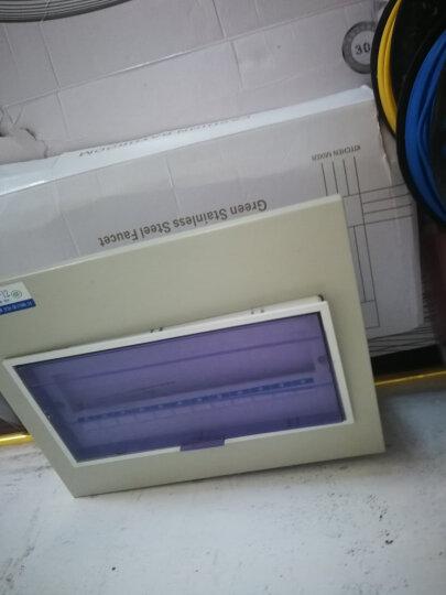 正泰(CHNT) 电线电缆 BV2.5平方 单股铜线硬线 家装铜芯电线 100米 双色 晒单图