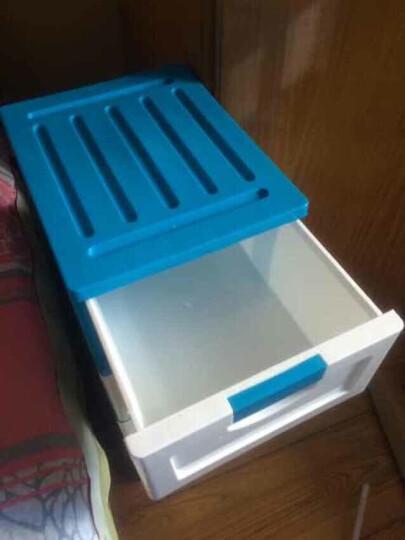 禧天龙Citylong 塑料收纳柜抽屉式大号五层抽屉式家居储物整理层柜 卡其色70L 5027 晒单图