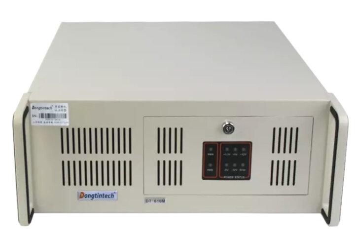 东田【酷睿4代】工控主机IPC-610M H81芯片组4个PCI 双网口10串口工业电脑 DT-XH81MA/I7-4770(3.4GHz) 4G/1T/DVD/WIN7专业版32位中文正版系 晒单图