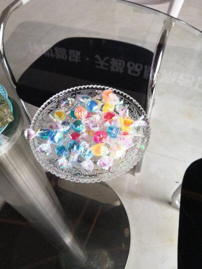 樱霓 透明玻璃盘子玻璃碗家用菜盘西餐具水果盘碟子糖果盘零食盘珍珠果盘干果盘餐盘玻璃果盘 6寸-珍珠果盘-花边 晒单图