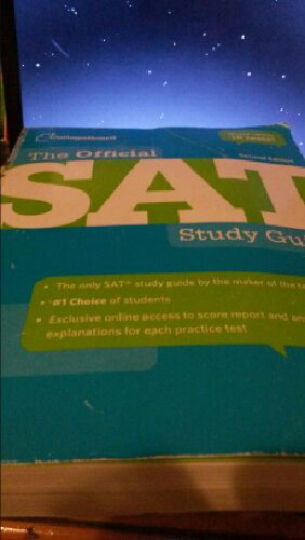 The Official SAT Study GuideSAT官方考试指南 英文原版 晒单图
