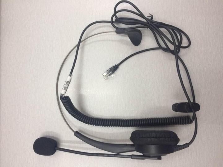 艾特欧(aiteou) A100呼叫中心话务耳机 客服专用耳机 电话座机耳机 电脑耳麦 2.5MM单插金属头 接有2.5圆孔接口的电话机 晒单图