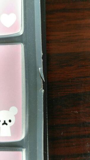 联想台式机一体机LXH-EKB-10YA G5005 D3000 D5050键盘保护贴膜 五彩蓝色 晒单图