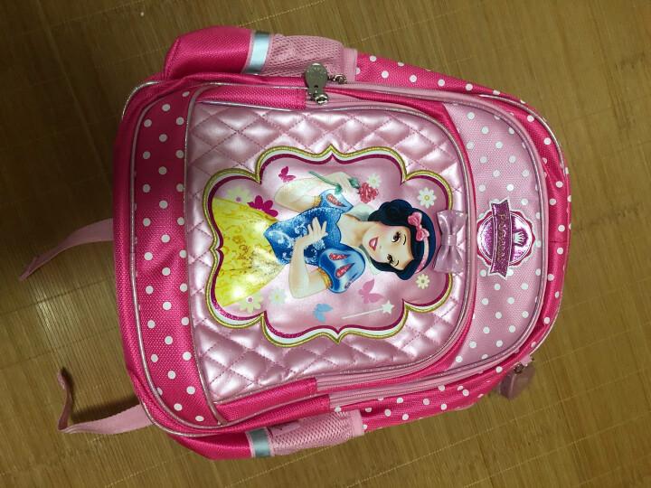 迪士尼( Disney )公主儿童书包 女款印花轻便卡通背包 小学生书包 PB0354A桃红 晒单图