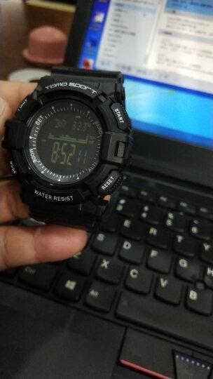 天摩(TOMO)电子手表运动手表男户外跑步登山海拔表 多功能智能计步电子表游泳防水男表军表学生手表 X89智能表-16G内存(3G移动联通)黑色 晒单图