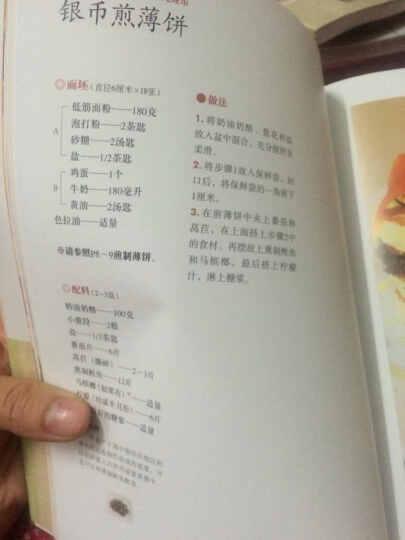 日本烘焙师的专业配方  大坪誉的煎薄饼和烤饼 晒单图