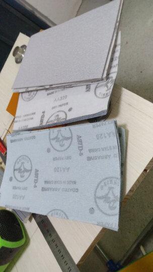 道酬自粘植绒铝合金砂纸架墙面涂料机械金属抛光研磨耐水砂纸阴角121824320#目自粘砂纸 砂纸长度25cm/240目 晒单图