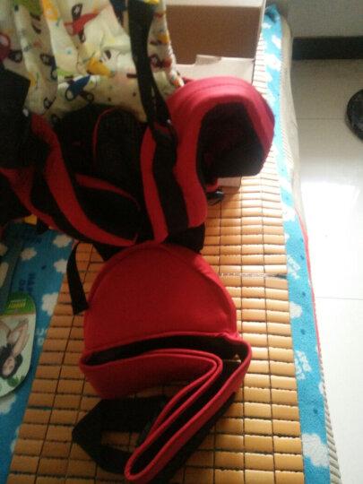 好孩子婴儿背带腰凳多功能婴儿腰凳四季宝宝背带双肩背婴带 紫色腰凳+背带组合 均码 晒单图