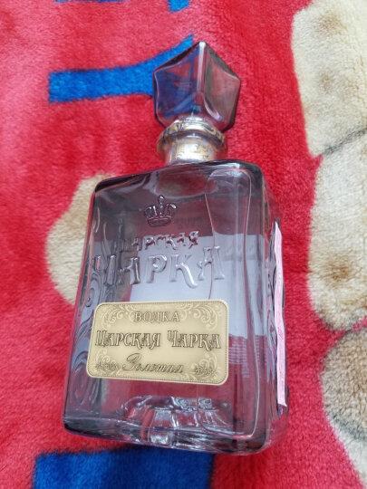 俄罗斯原瓶原装进口洋酒 沙皇金樽40度伏特加烈酒 沙皇金樽银标500ml 晒单图