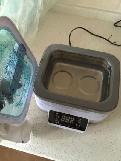 洁盟(skymen) 超声波清洗机家用 分体眼镜清洗机 洁盟首饰清洗洁器JP-1200 雅白色 晒单图