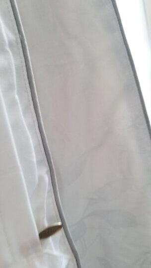 恒源祥家纺 品牌蚕丝被双人舒适秋冬被蚕丝被100%桑蚕丝全棉大提花面料四季被子 9667白色/总重6斤 200*230cm 晒单图