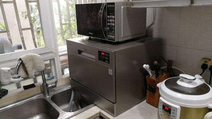 美的(Midea)6套  WiFi智控洗 全智能除菌台式家用洗碗机 WQP6-W3604J-CN 晒单图