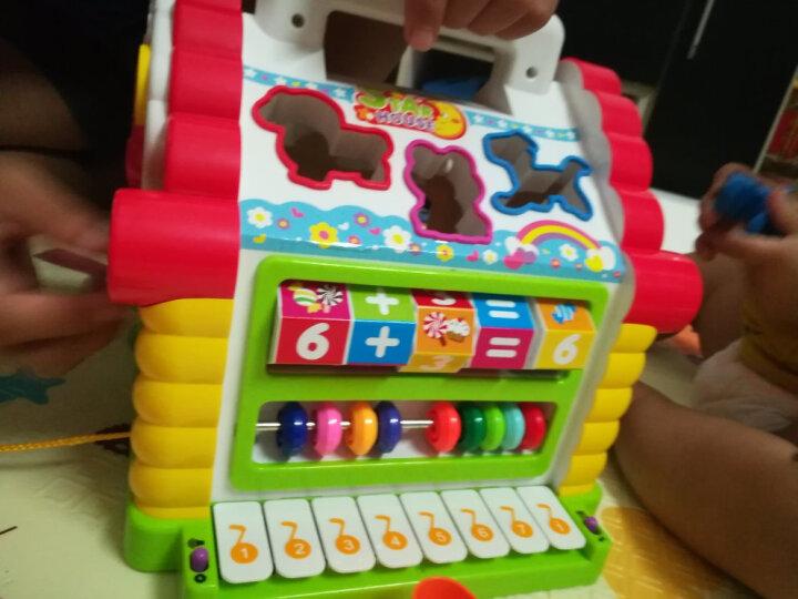 汇乐玩具(HUILE TOYS) 学习桌工具箱玩具婴幼儿过家家玩具女孩男孩玩具 汇乐739趣味小屋 晒单图