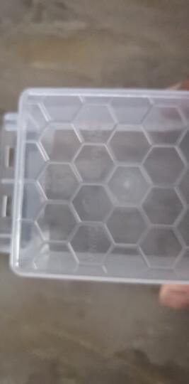 禧天龙Citylong 塑料收纳盒透明小号首饰盒随身便携小药盒迷你款0.15L3个装6647 晒单图