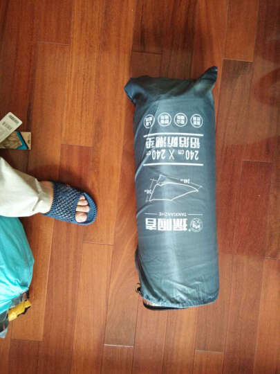 探险者(TAN XIAN ZHE) 探险者户外铝箔防潮垫野餐垫子帐篷地垫多人加宽 方形240*240cm 晒单图