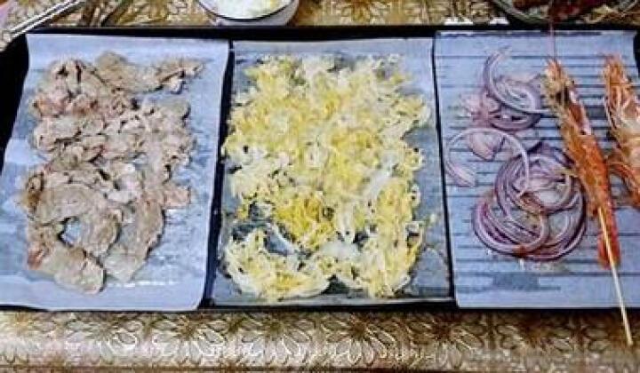 捷昇(JIESHENG)韩式家用电烧烤炉 电烤盘户外无烟不粘铁板烧烤肉机 小号(2-3人三口之家套餐) 晒单图