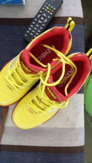 艾迪宝ADIBO羽毛球鞋男女款 防滑透气 运动鞋免系鞋带S153D 37码 晒单图
