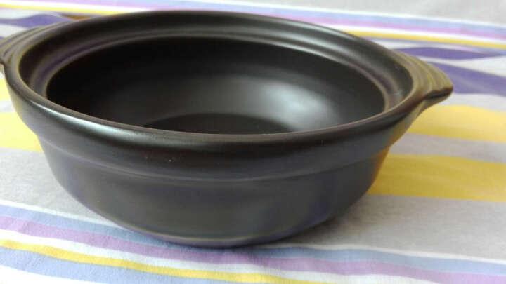乐享 陶瓷双耳双盖隔水甜品耐高温汤煲炖盅500ml 小象盅 晒单图