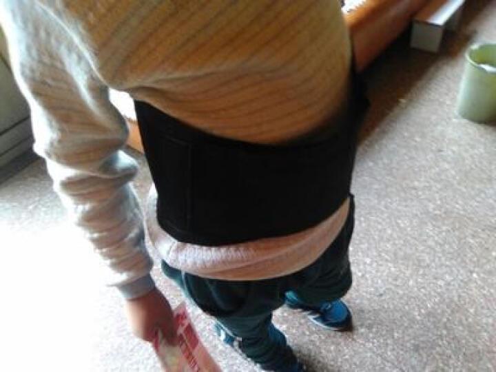 曼迪卡威护腰篮球运动支撑加压健身型透气护具八支撑条束腰带 黑色 S/M 适合腰围85cm以下 晒单图